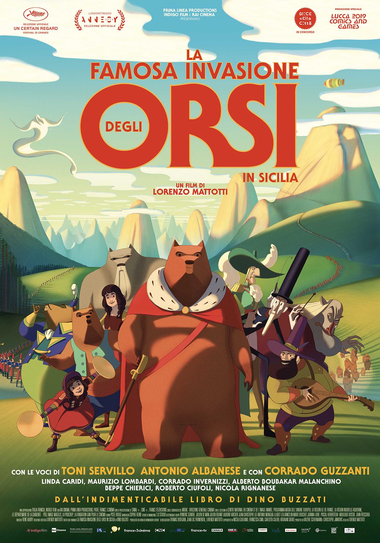 famosa invasione orsi sicilia